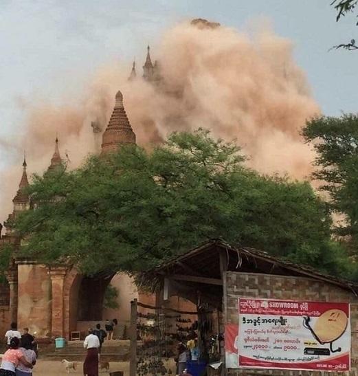 YellowLink ミャンマー地震で崩壊した世界三大仏教遺跡バガンを守りたい!